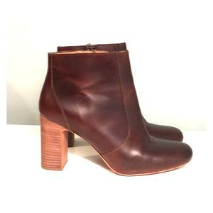 Madewell Genuine Leather Boots
